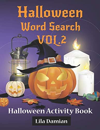 Halloween Word Search VOL.2: Halloween Activity Book (Halloween Books For Children)