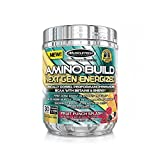 MuscleTech Amino Build Energized, 30 Serving, Fruit Punch Splash, 9.86 Ounce (Pack of 6)