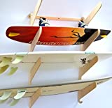Surfboard Wakeboard Hanging Wall Rack -- 4 Boards