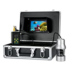 Underwater Fishing Camera,Powpro Wcam PP-0WD 50M 7inch HD DVR 700TVL Underwater Fish Finder Waterproof