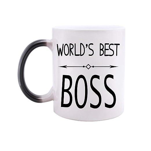 Amazon Com Funny Morphing Mug World S Best Boss Quotes