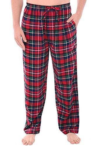 Del Rossa Men's Flannel Pajama