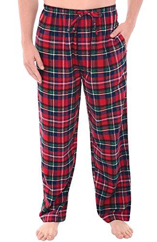 Del Rossa Men's Flannel Pajama