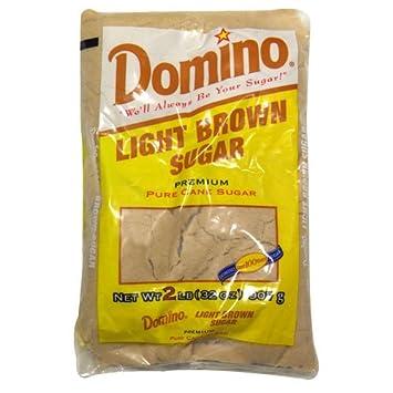 Amazon Domino Light Brown Sugar 2 Lb 3 Packs Grocery