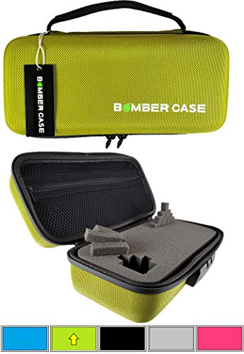 BOMBER CASE - Combination Lock Box - Smell Proof Stash Case - Customizable Foam Interior - Flexible Construction and Odor Proof Locking Zipper - Safe Container - 9.5