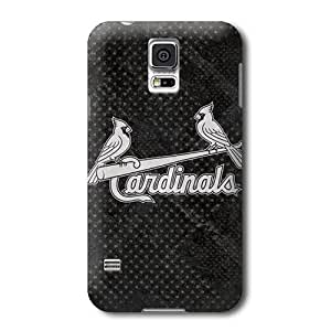 Allan Diy S5 case cover, MLB - St Louis Cardinals Dark Wash - mzYtwchFoKe Samsung Galaxy S5 case cover - High Quality PC case cover