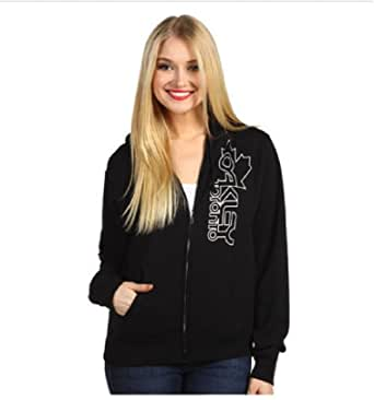 Oakley Women's Toronto Outline Hoodie Sweatshirt at Amazon