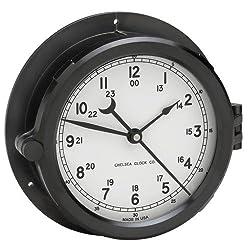 Chelsea Clock Patriot Deck Clock, White Dial