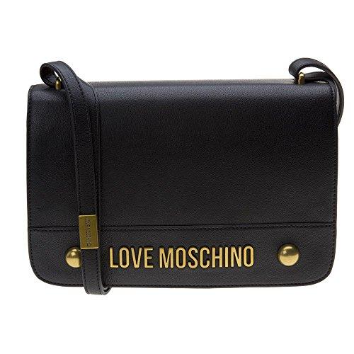 Love Moschino Cross Body Womens Handbag Black by Moschino Love Moschino (Image #3)'