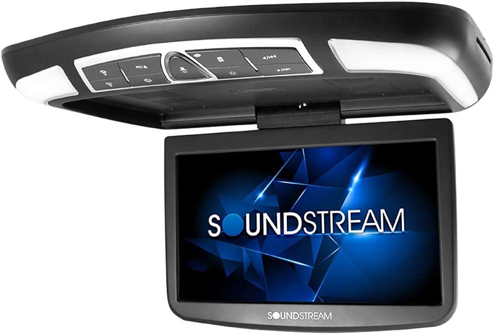 Soundstream 13.8寸汽车架空高分辨率视频监视器与DVD播放器