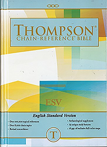 ESV - Hardcover - Regular Size - Thompson Chain Reference Bible (011130)