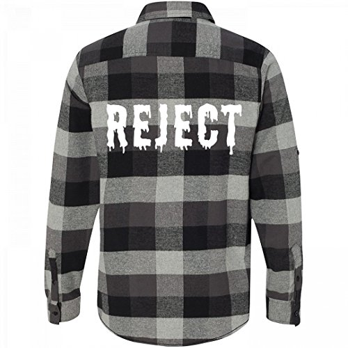 Grunge Flannel (Customized Girl Flannel Grunge Reject: Unisex Plaid Flannel Shirt)