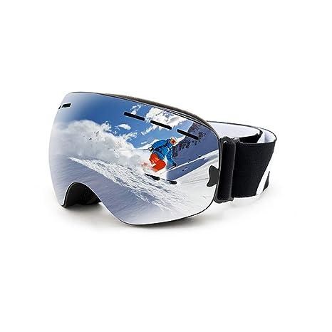 Gafas de esquí de una sola capa con protección UV y antivaho ...