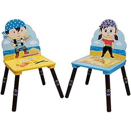 Fantasy Fields Pirates Island Set Of 2 Chairs B