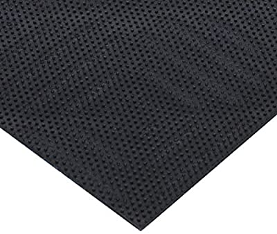 "Andersen Waterhog Eco Premier Tile PET polyester Fiber Entrance Indoor/Outdoor Floor Mat, Geometric Pattern, SBR Rubber Backing, 18"" Length x 18"" Width, 1/4"" Thick (Case of 12)"