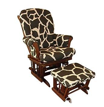 .com: cotton tale designs sumba glider with ottoman, giraffe ...