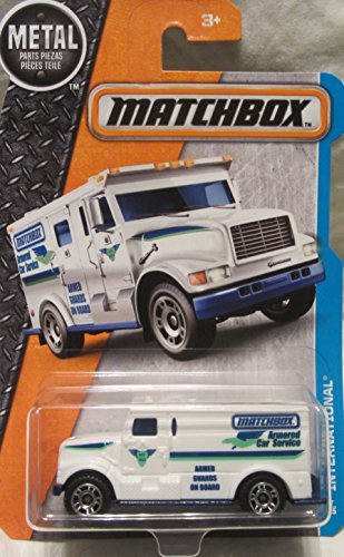 venture City International Armored Car 17/125, White (Armored Truck)