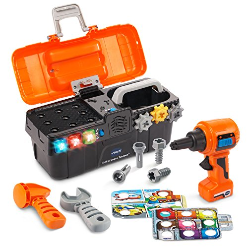 VTech Drill & Learn Toolbox - ONLINE (Mechanical Toys For Toddlers)