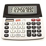 Staples SPL-250 10-Digit Large Display Calculator - Solar Powered with Battery Backup and Auto-Off