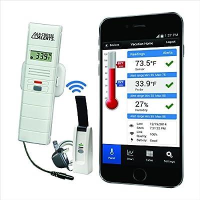 La Crosse Alerts Mobile 926-25101-GP Wireless Monitor System Set with Dry Probe from La Crosse Technology