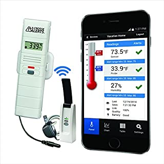La Crosse Alerts 926-25101-GP Wireless Monitor System Set with Dry Probe (B0081UR76G) | Amazon Products