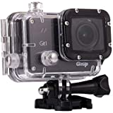 Gitup Git1 1080p Full HD Video Wi-Fi Action Camera, 1920x1080, 30fps, H.264, 98 Housing Waterproof, Pro Packaging