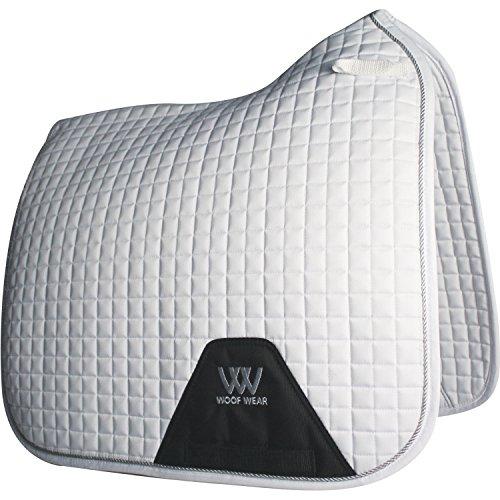 Woof Wear Dressage Saddle Pad Full Size White by WOOF WEAR