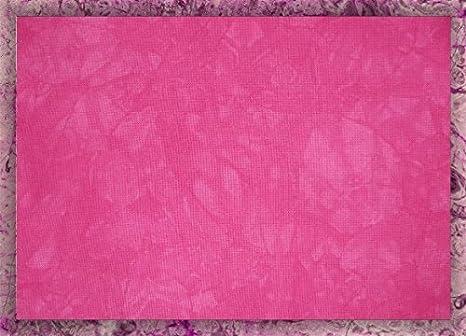Hand-dyed 14 Count Aida Cloth (Zweigart) - 17x20 - Cactus Fruit Garibaldi' s Needle Works