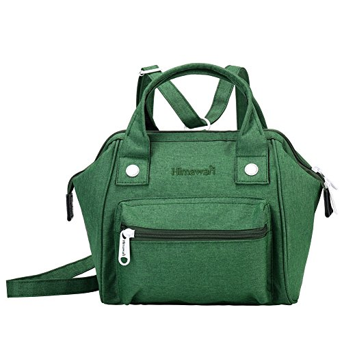 Himawari Bags Soft Backpack Sy Women's Handbags Handle Tote Canvas With Green Bag Top UUfW4Tc