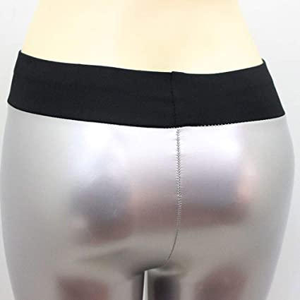PAOLIAN Pantalones de Cuero Deporte Mujer, Pantalones Yoga Mujer ...