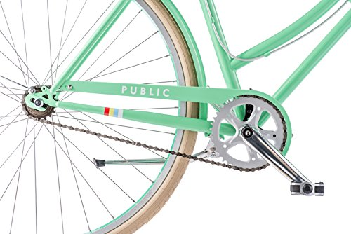 PUBLIC-Bikes-Womens-C1-Dutch-Style-Step-Thru-Single-Speed-City-Bike-16Small-Turquoise