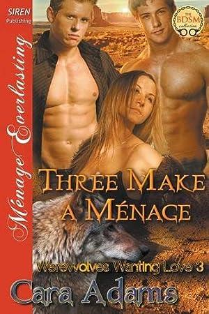 book cover of Three Make a Menage