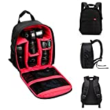 TONGROU Waterproof DSLR Camera Backpack Shoulder Bag Case For Canon For Nikon For Sony