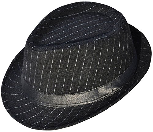(Halconia Classic Gangster Stain-Resistant Crushable Gentleman's Fedora,)