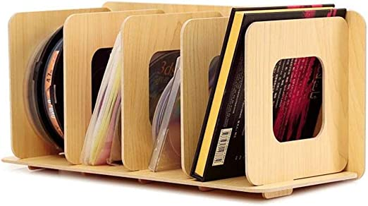 Lwieui Caja de Almacenamiento de CD Extra Grande apilable Albumes ...