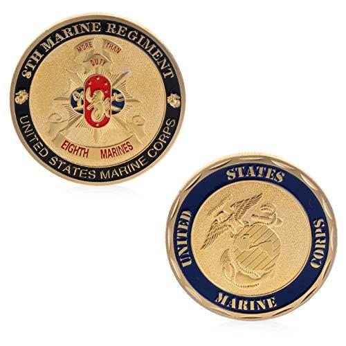 (Craft Art - Commemorative Coin Btc Collection Art Alloy Plating Imitation Marine Army Craft - Craft Collection Coins Currency Coins Mario Coin Custom Army Santa Police Usmc Navy Medal Moon Milit)