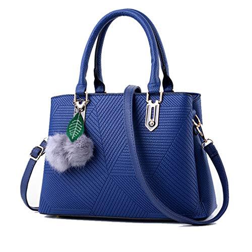 A Tracolla Per In Blue Donna Pelle Da Borsa dT5OxAqwO