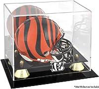 Cincinnati Bengals Golden Classic Mini Helmet Display Case