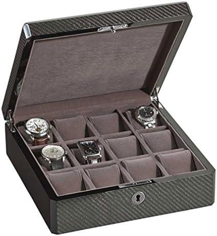 Venlo Twelve 12Watch Casesホルダー新しいカーボンファイバー15