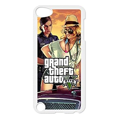 Fantastic-shop GTA 5 Woman Cop Frisk Me iPod Touch 5 Case