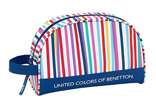 Benetton 2018 Toiletry Bag, 28 cm, Multicolour (Multicolor)