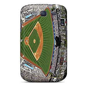 High Quality Hard Phone Cover For Samsung Galaxy S3 (RoR11195GKvf) Unique Design High-definition Los Angeles Dodgers Skin