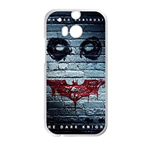 The Dark Knight Movie HTC One M8 Cell Phone Case White PhoneAccessory LSX_699044
