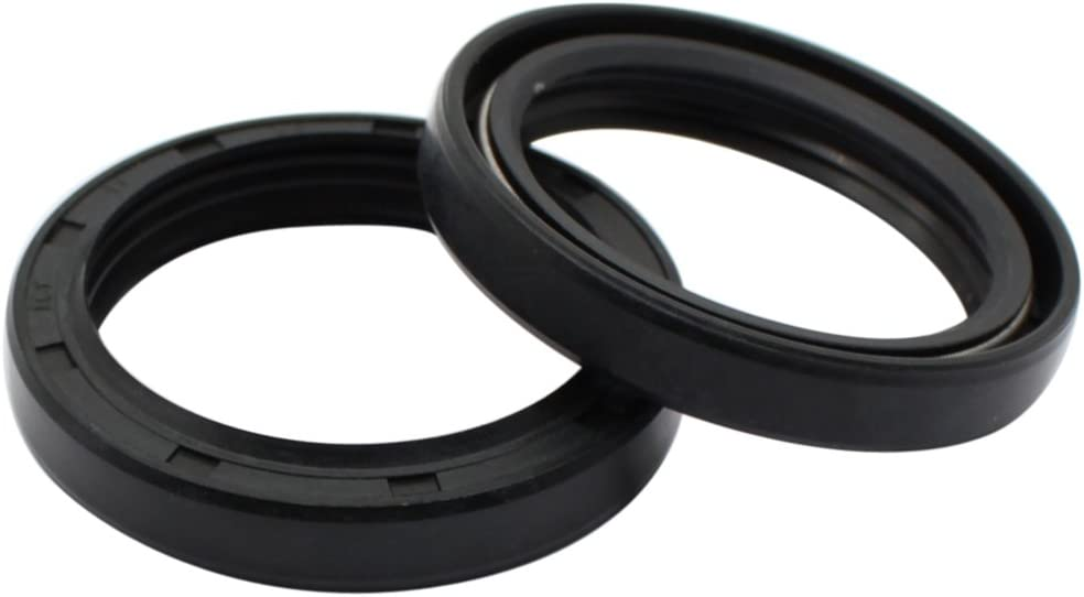 Cyleto Front Fork Shock Oil Seal 37 x 49 x 8//11mm Set for Suzuki GS500 GS 500 1989-2002 GS550 GS 550 GS550E GS550ES 1983 1984 1985 1986