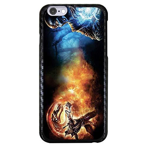 Capa Intelimix Carbono Preta Apple iPhone 6 6s Games - GA10