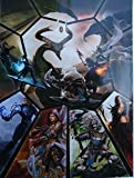"""Magic the Gathering 2009 Planeswalker promotional poster 11"""" X 15"""""""