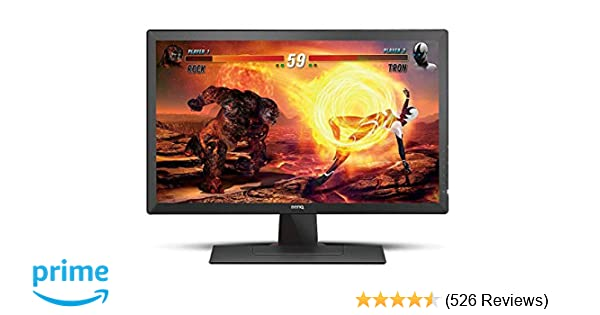 BenQ ZOWIE RL2455S 24 inch 1080p Gaming Monitor   1ms 75Hz   Black  Equalizer & Color Vibrance for Competitive Edge