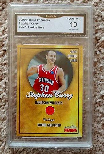 Nba Mint - 2009 Graded Rookie Stephen Curry GMA 10 Gem Mint!! Sale for 2018 NBA Finals champs non PSA