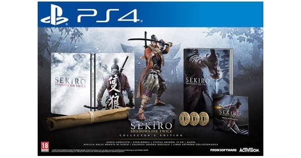 SEKIRO - Shadows Die Twice - Collectors Edition [PlayStation 4 ...