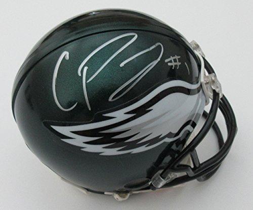 Cody Parkey Autographed Mini Helmet - Autographed NFL Mini Helmets